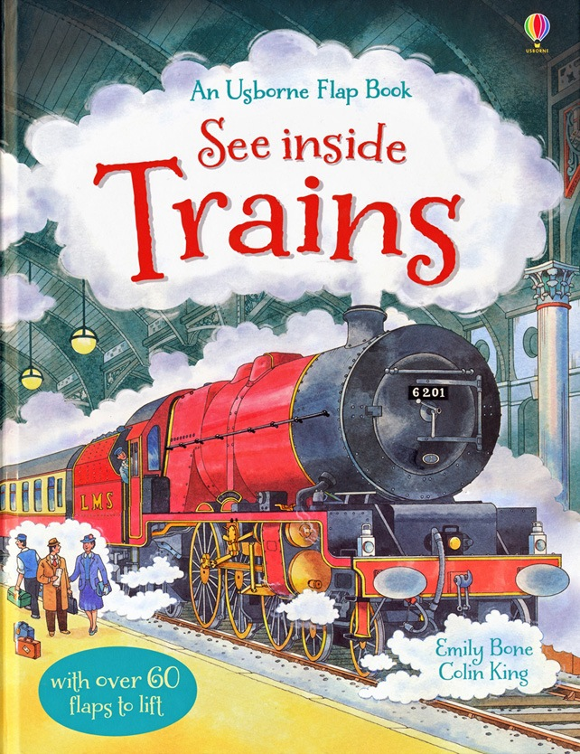 See inside Trains COVER